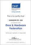 DHF-Membership-Certificate