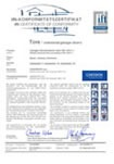 IFT Sectional Product Certificate