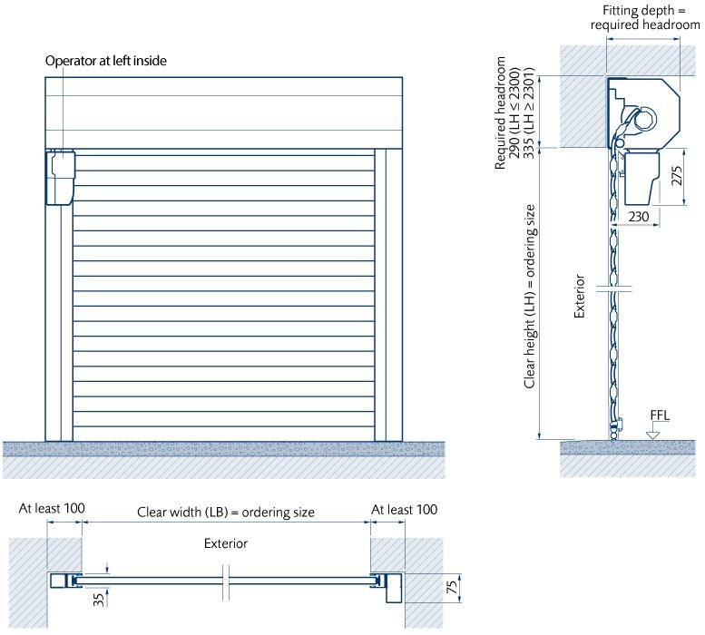 normal garage door height 2