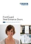 Garador FrontGuard front entrance door brochure