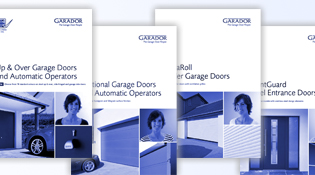 Garador request a brochure service
