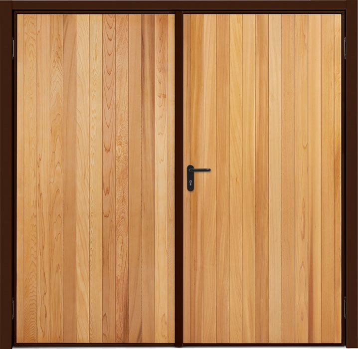 Garador Timber Panel Vertical Cedar