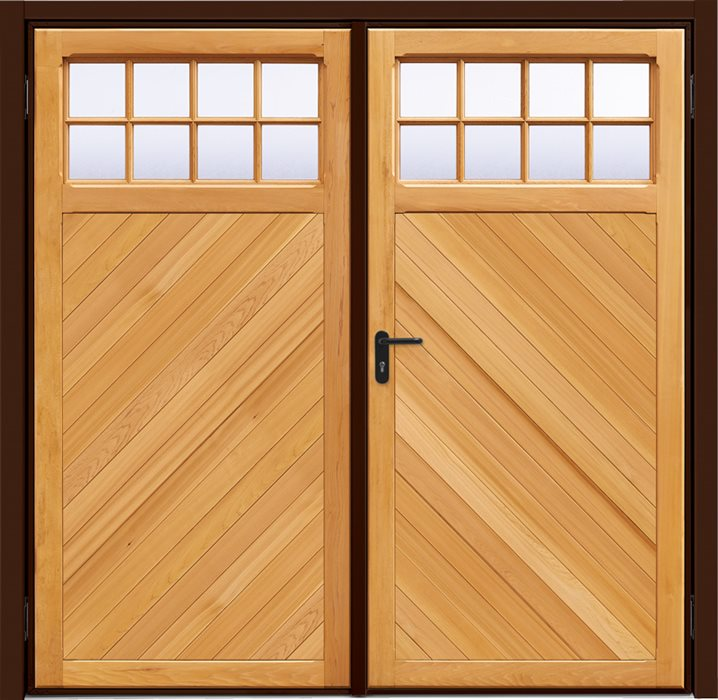 My Garage Door Light Stays On: Garador Timber Panel / Ashton Chevron