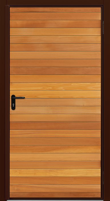 Garador Timber Panel Horizontal Cedar